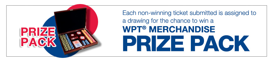 WPT® Merchandise Prize Pack